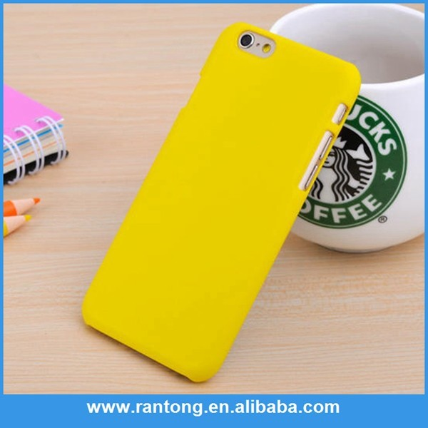 Factory sale simple design rubber oil case for iphone 5 in many style