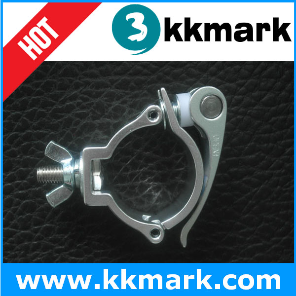 Quick Release Truss Clamp for Lighting, Aluminum QR Clamp, Aluminum Truss Clamp Hook