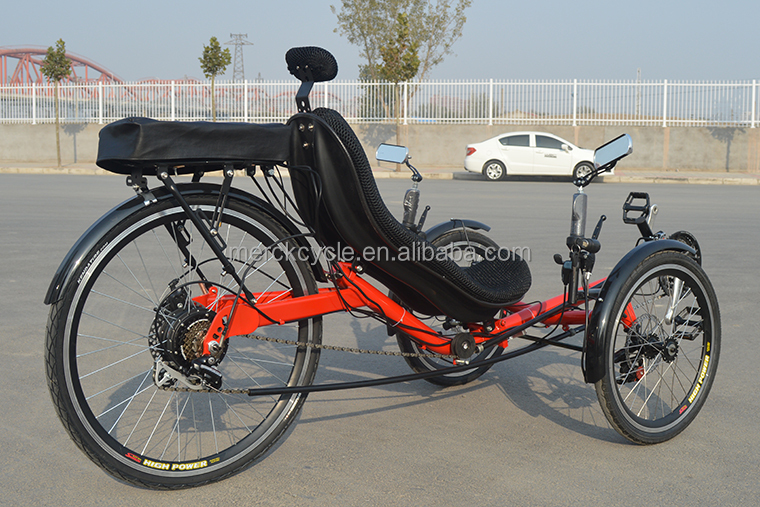 Adulte trois roues lectrique tricycle couch fabricant - Tricycle couche electrique ...