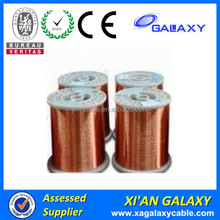 PEW class 180 0.8mm best sell solid enameled copper wire romex copper wire with high temperature