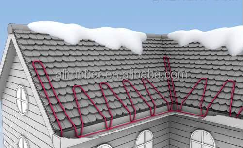 Garage/Ground/Gutter/Roof Deicing/Snow Melting Heat Wire/cable