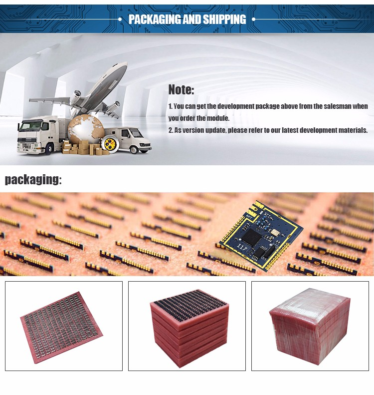 Factory Price CC1110 Industrial grade 433mhz Wireless Transceiver Sensor module
