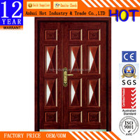 China products Turkish style armored doors turkish designs Mom and son doors double leaf doors make in china at cheap price