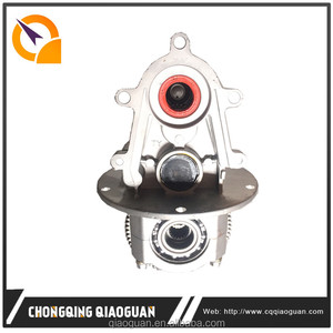 QG 2016 hot sale Chongqing factory export tricycle energy-saving 4th generation electric rear axle differential