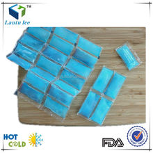 leak proof food safety can be cut reusable ice pack sheet grids ice blanket for keeping food fresh