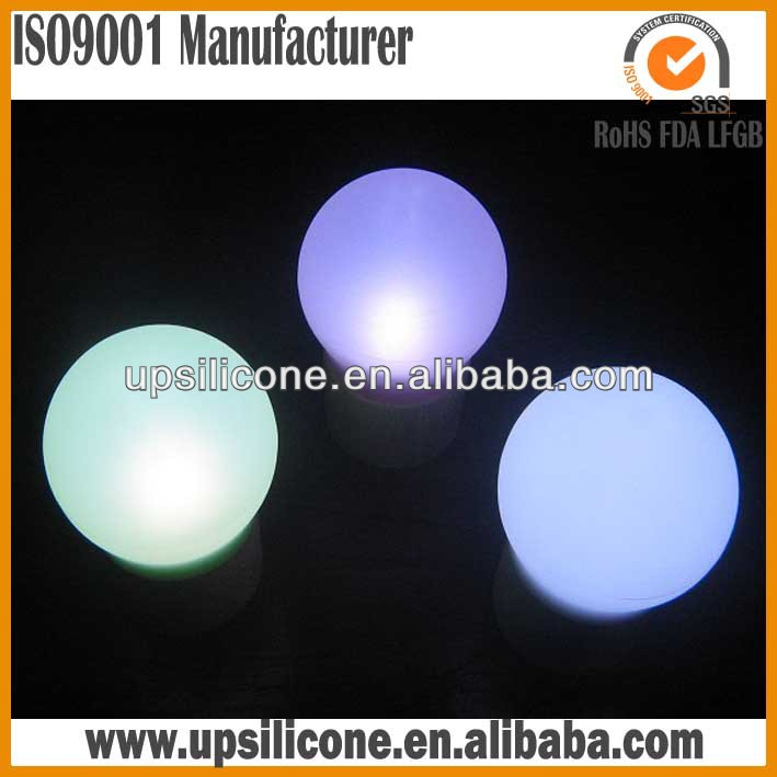 silicone rubber lamp shape subdued light cover