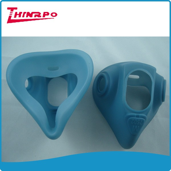 Factory supplier Molded suction parts silicone rubber mask