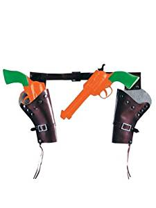 Toy Cowboy Guns and Holster Set
