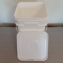 Multifunktions 4 gallon plastic container platz PP <span class=keywords><strong>eimer</strong></span>