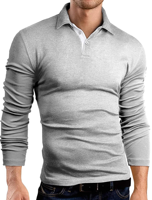807691a6127d9c Buy Grin Bear Slim Fit contrast Poloshirt Polo