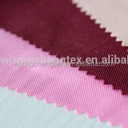 100% Polyester Gabardine Fabric for Uniform /chef/doctor suit
