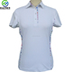 OEM custom made high quality dry fit Women Polo T Shirt with piping