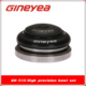 "1-1/8"" to 1-13/8"" GINEYEA GH-513T Integrated threadless tapered headtube bike headset for mountain bike, BMX, Downhill, Dirt"