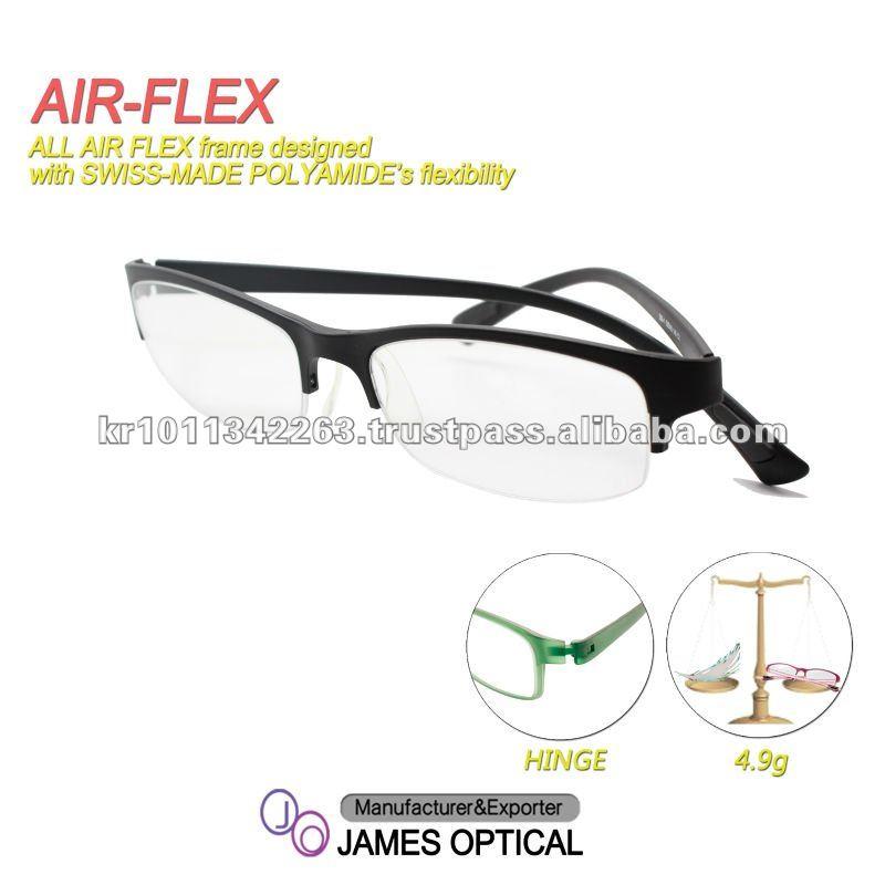 Glasses Optical Frame Air-flex Swiss Polyamide - Buy Eyeglasess ...