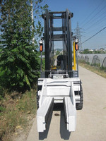 sideshifting forklift block clamp