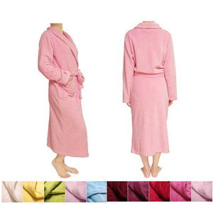 c185db8777 China alibaba custom printed coral fleece bathrobe polyester bath gown plush  size robe custom boxing robe
