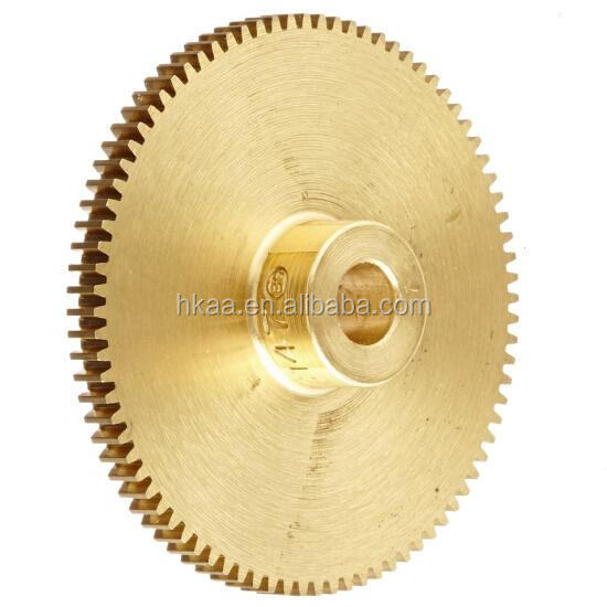 Hot sale brass stainless steel split hub spur gear