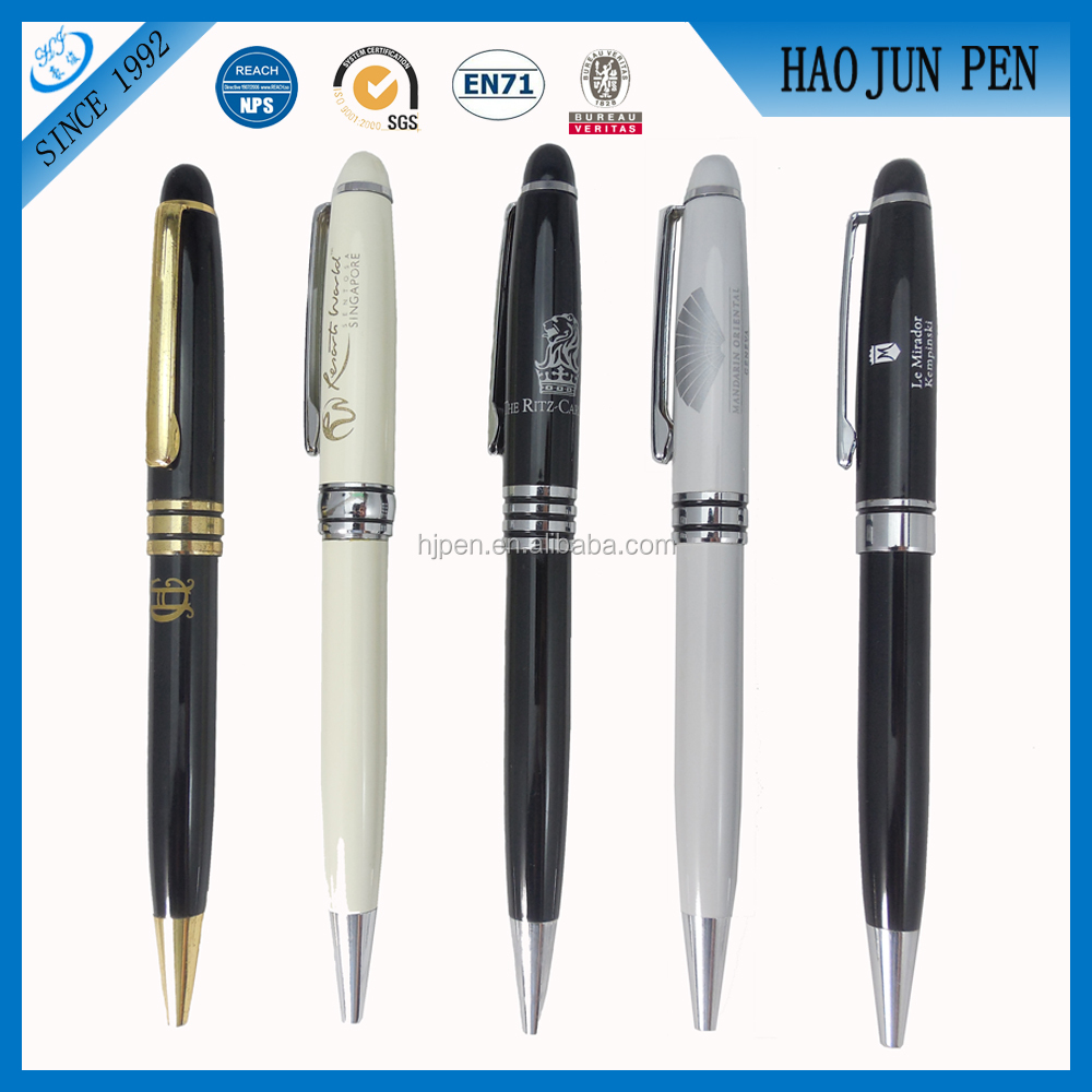 2016 Good Quality Mont Blank Metal Ballpoint Pen Promotional