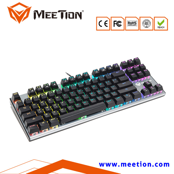 Brand Backlit RGB Mechanical Gaming Keyboard For Computer Gamers