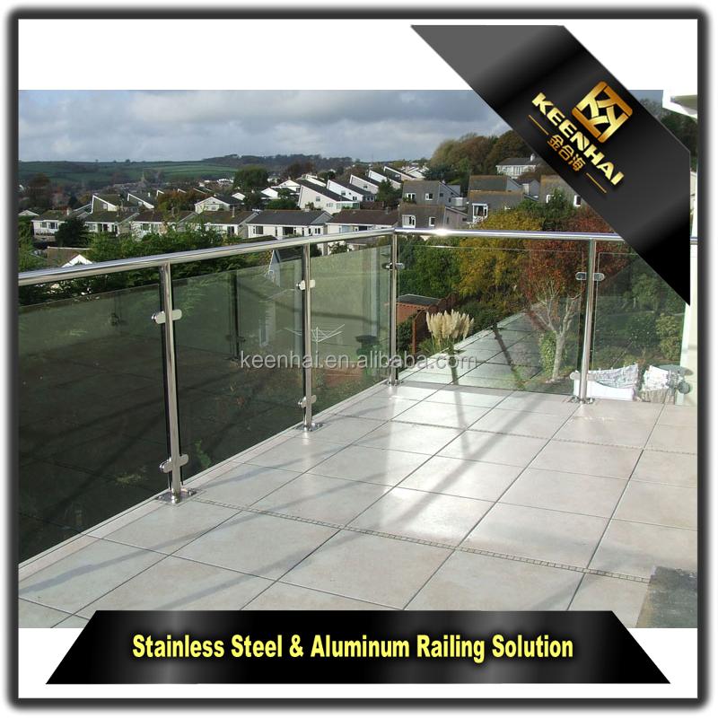 Modernes design outdoor treppe balkon 304 edelstahl geländer ...