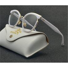 Модные готовые очки для близорукости, женские Овальные очки с кошачьей оправой, прозрачные линзы, очки по рецепту-1-1,5-2-2,5-3-3,5-4 NX(Китай)