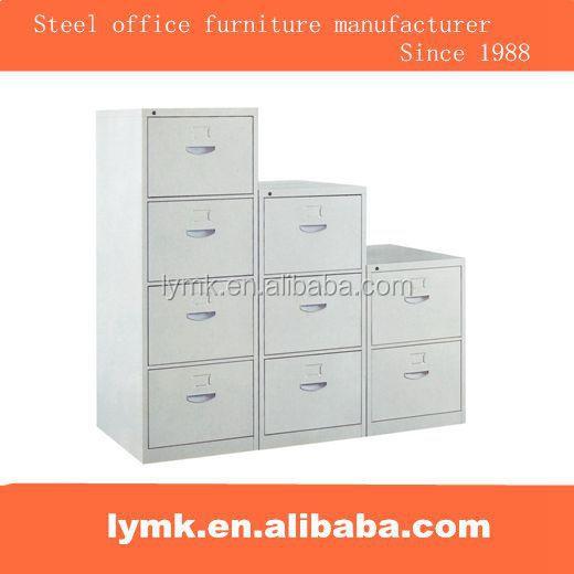 Büromöbel schrank hängeregister  stahl büromöbel vertikale 4 schublade seitlichen metall ...