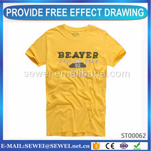 China professional OEM o-neck t shirts Most Popular Items