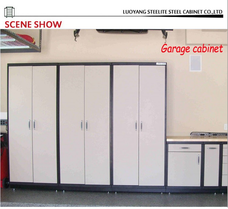 garage m tallique de stockage armoire murale garage. Black Bedroom Furniture Sets. Home Design Ideas