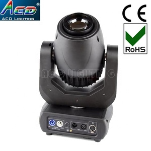 NEW arrive 150w white 6500k led cri>90 stage gobo effect 150w led moving head spot gobo light