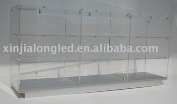 Clear Glass Display Cabinets   Buy Glass Display Cabinets,Display  Cabinets,Glass Cabinet Product On Alibaba.com