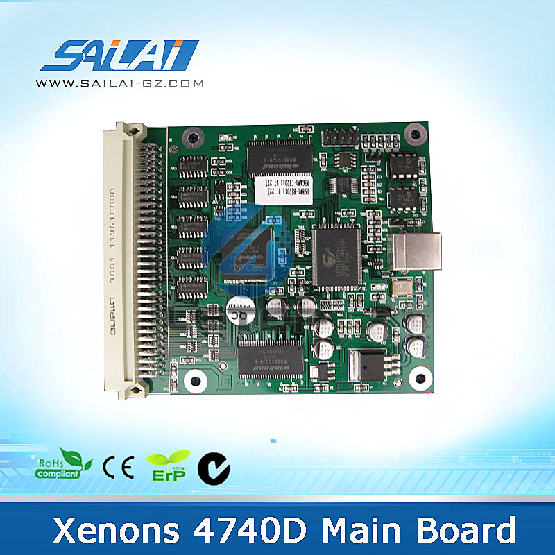Large format printer Xenons 4740 D main board for dx7 single head printing