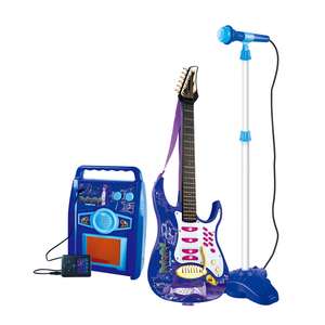 Hot sale Kids Electric Toy Guitar,Electric guitar toys set HC151372