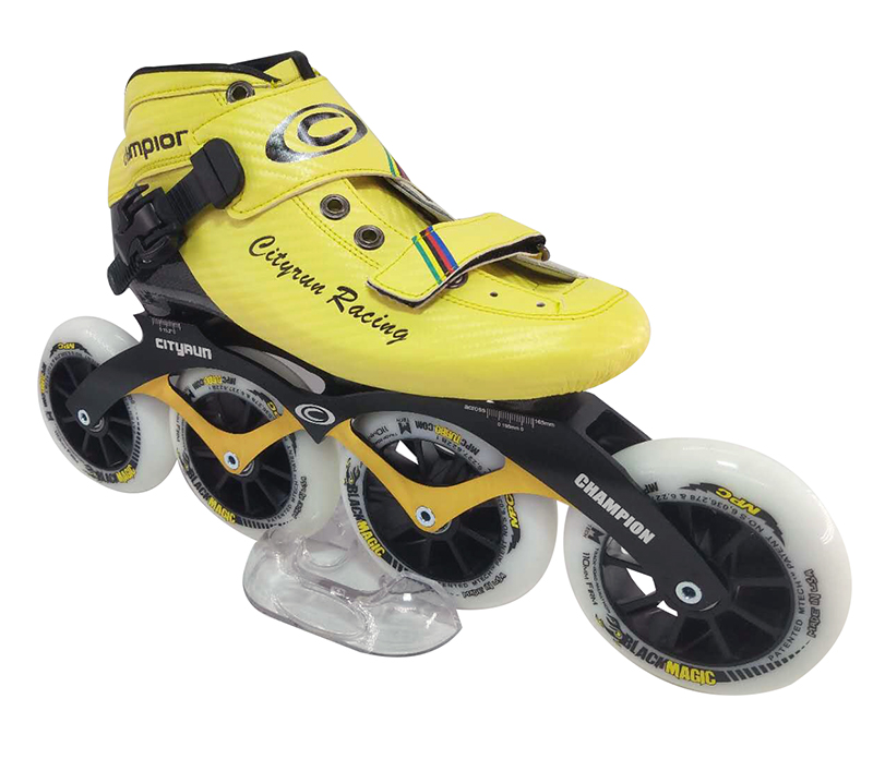 City Run inline speed skates for DIY Factory price Carbon fiber inline skates фото