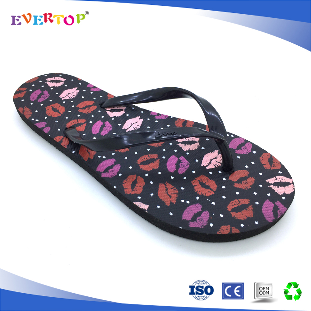 Promotional cheap women footwear easy walking eva flip flop slipper ladies 2016