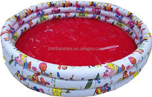 3-Ring Cartoon Printing PVC Inflatable swimming Pool/children inflatable swimming pool