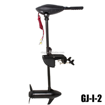 86lbs saltwater electric outboard motor folding handle for 6hp outboard motor electric start