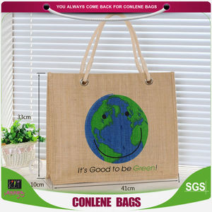 customized picture of jute bag