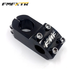 MTB BMX DH FR Bike Downhill Stem 22.2*28.6*50mm Aluminum Alloy Bicycle Short Stem Black And Silver Available