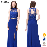 Cocktail lace new model dresses women clothing manufacture