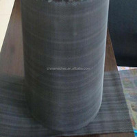 black wire cloth / plain steel wire cloth / carbon steel wire cloth