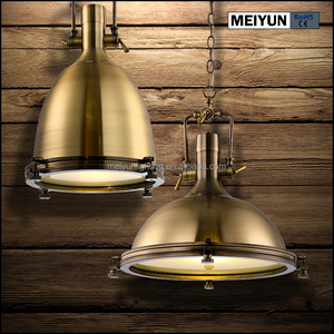 2018 popular antique brass hanging lighting lamp