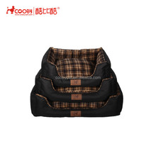 Super Soft Plush Fur Fabric Winter Round dog sofa bed