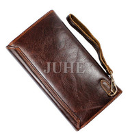 Special Price Vintage genuine leather clutch bags for men