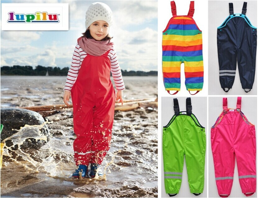 Trousers topolino small rodents child weatherproof waterproof overalls overalls children boys girls pants trousers
