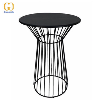 Bar Furniture Metal Wire High Bar Tables For Sale