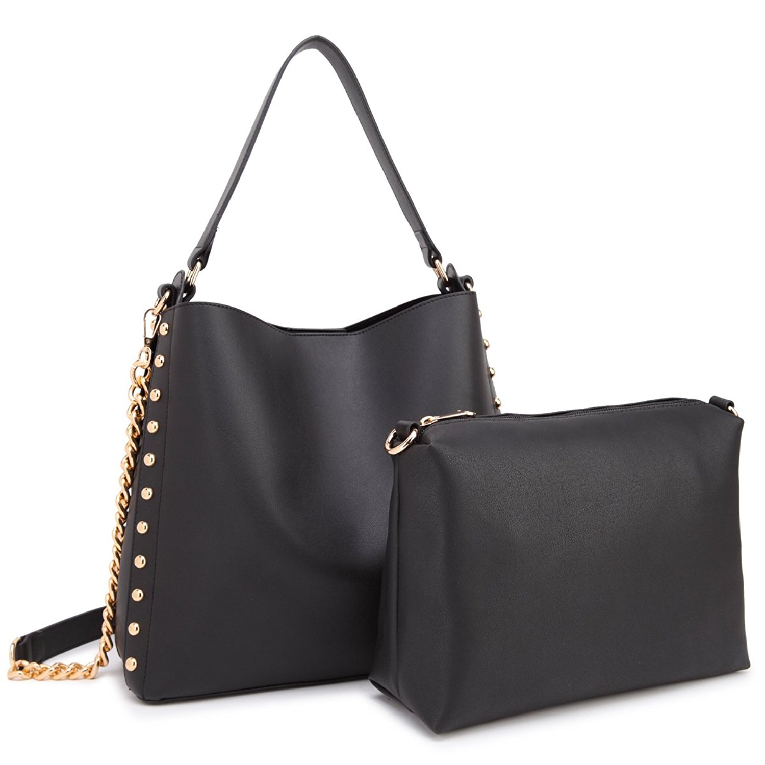 adef71882080 Get Quotations · Women Satchel Purses and Handbags Ladies Hobo Bags  Shoulder Purses with Liner Crossbody Pouch Bag