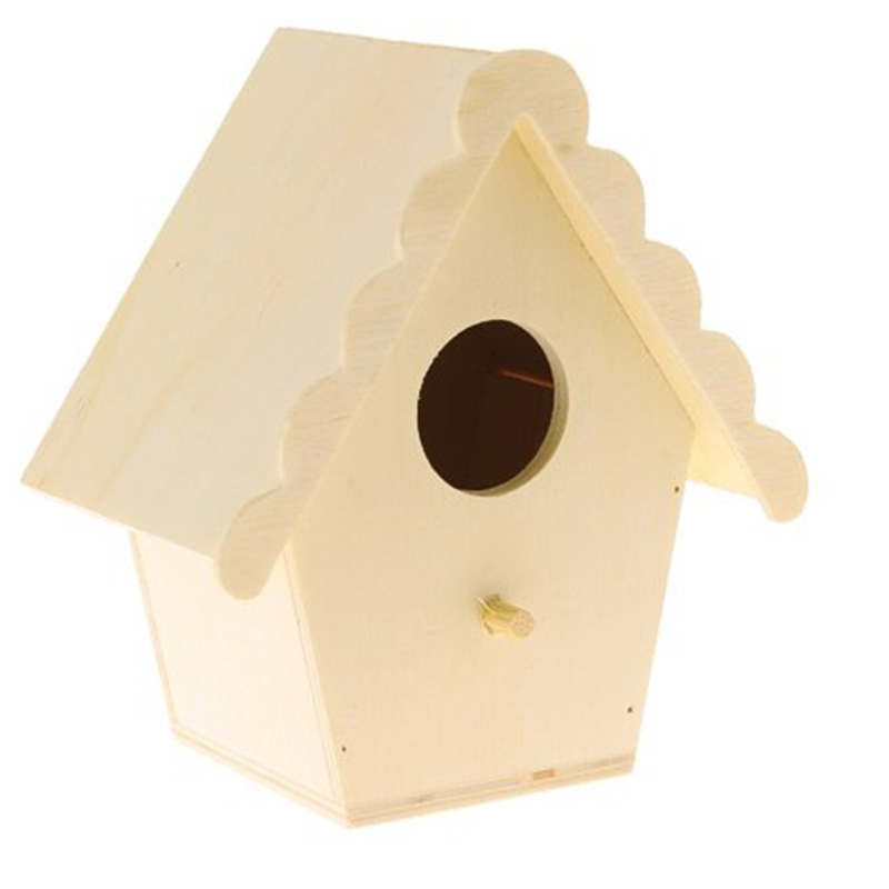 Singapore Decor Kit Birdhouse Antique Bird Cage Wood For Bird