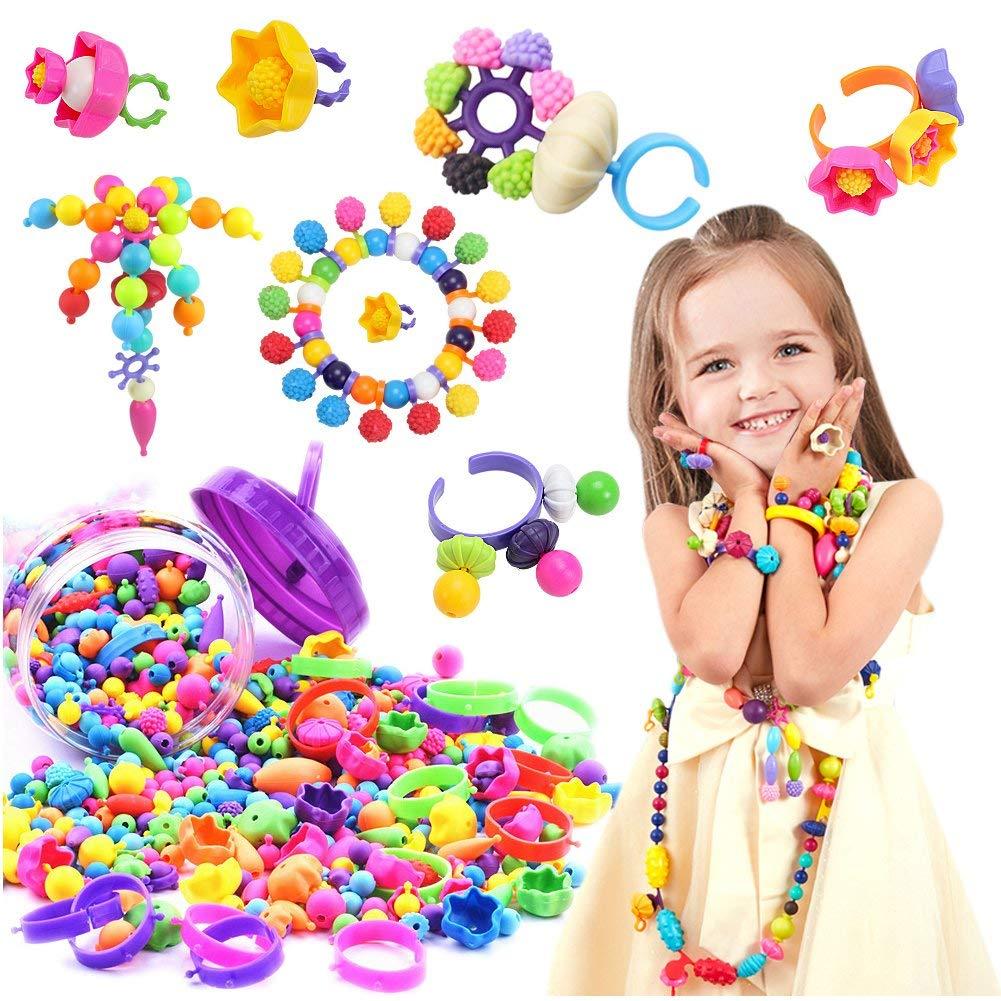 Beadery Pop Beads 12 and 25mm 113 Grams//Pkg-Pearl Multi