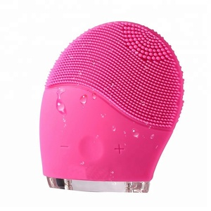 Electric Face Massager Silicone Facial Brush Cleansing Face Massager with Deep Cleansing Pore Remover
