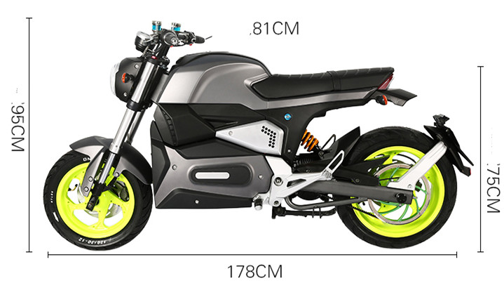 2020 Newest 1500W 2000W 2500W Racing Adult Electric Motorcycle scooters  with water cooling system